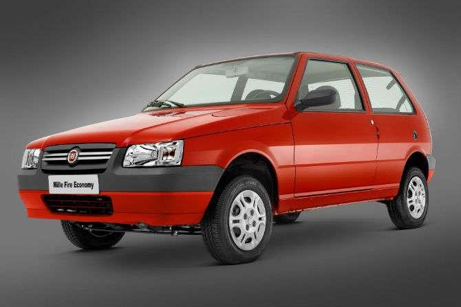 Fiat Mille é o carro mais barato do Brasil atualmente