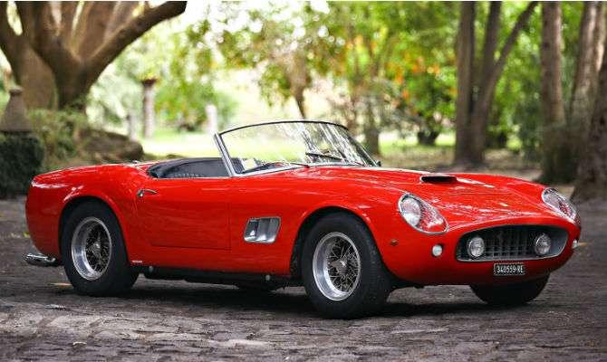 Apenas 56 unidades da Ferrari 250 GT SWB California Spider foram produzidas