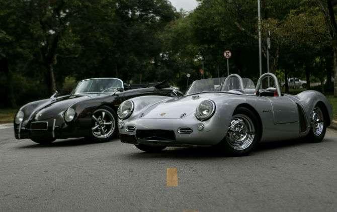 Porsche 356 Speedster e 550 Spyder