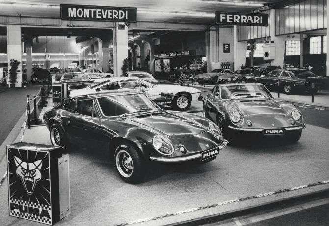 Estande da Puma no Salão do Automóvel