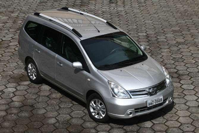 Minivans e monovolumes vendidos no País