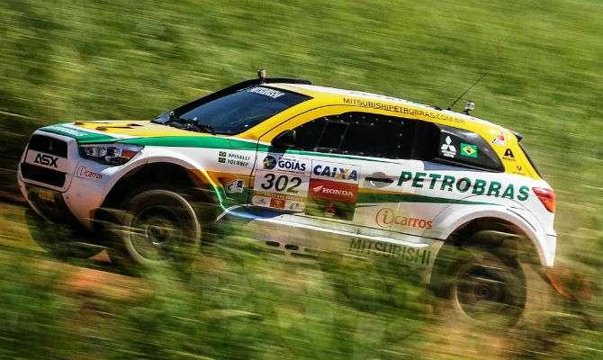 Mitsubishi ASX preparado para o Rally dos Sertões usa um V8 de 350 cv