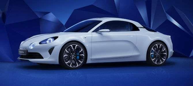 Renault revela 'conceito' do esportivo Alpine