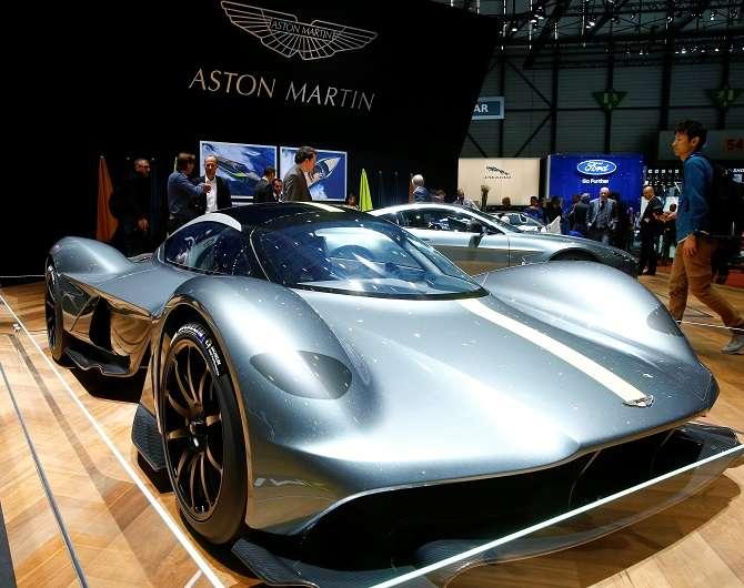 Supercarro da Aston Martin tira sua força de um sistema híbrido