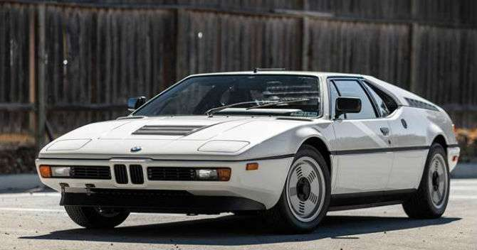 BMW M1 número 1 é vendido por R$ 322 mil