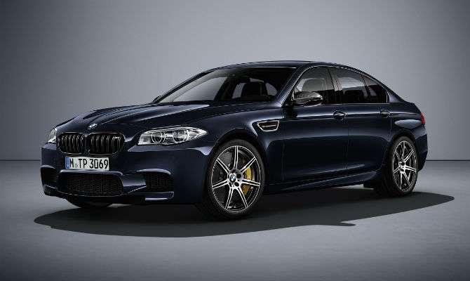 BMW M5 sai de linha com série especial
