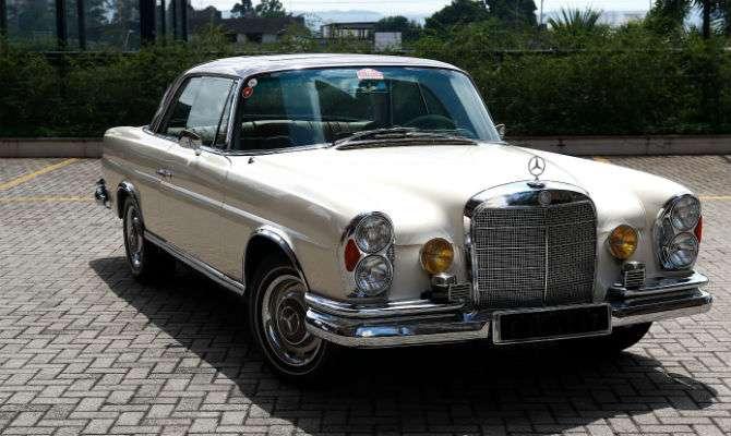 Conheça 'Eva', um Mercedes-Benz 1967 apaixonante