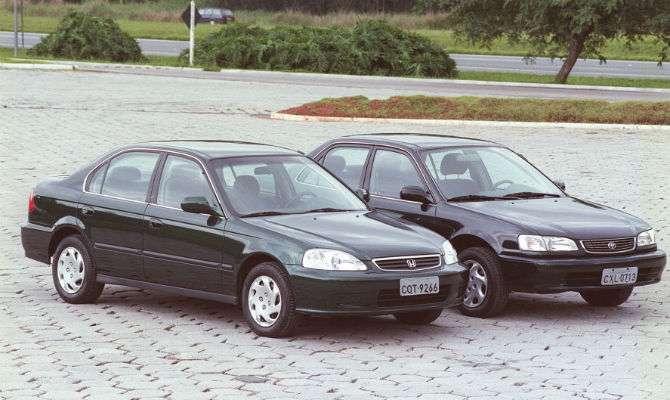 Em 1999, Toyota E Honda Tinham Acabado De Começar A Produzir Os Sedãs  Corolla E Civic No Brasil, Conhecidos Por Aqui Até Então Por Suas Versões  Importadas.