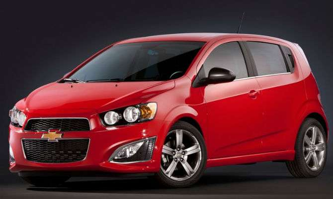 GM promove recall do Sonic nos EUA