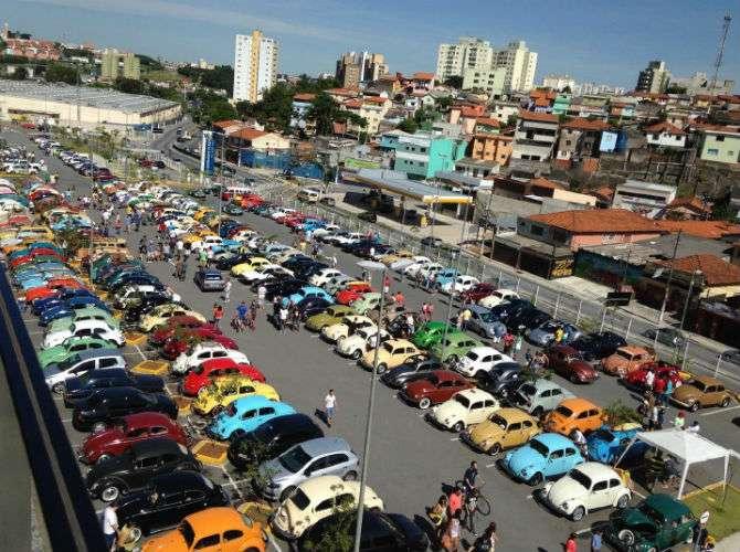 Fãs do Fusca se reúnem no ABC paulista