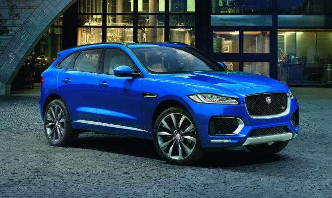 jaguar f-pace custará r$ 300 mil - jornal do carro - estadão