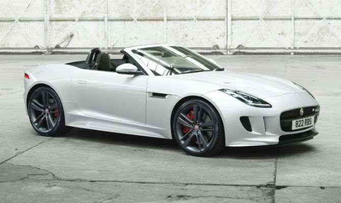 F Type V6 S é A Base Para A Série Especial British Edition