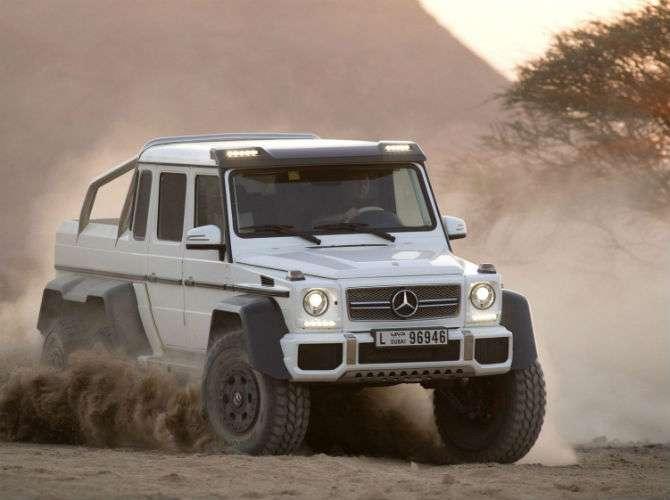 Exceptional Para Agradar Sultu0026otilde;es, G63 6x6 Pode Encarar Qualquer Deserto. O  Mercedes Benz ...
