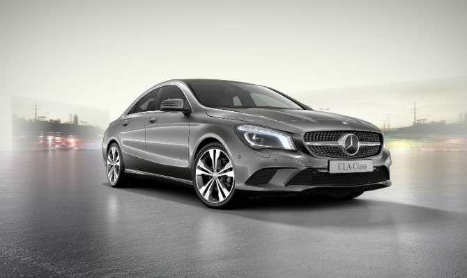 Mercedes-Benz CLA tem três novas versões