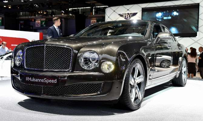mulsanne speed  u00e9 carro mais caro da bentley