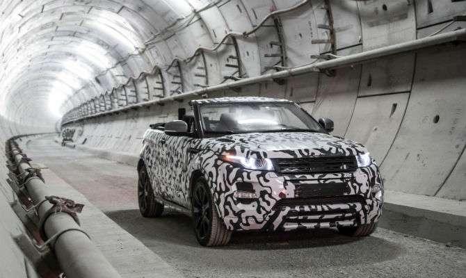 Land Rover confirma Evoque conversível
