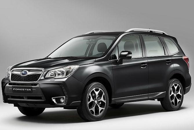 Subaru Forester e XV têm nova nomenclatura