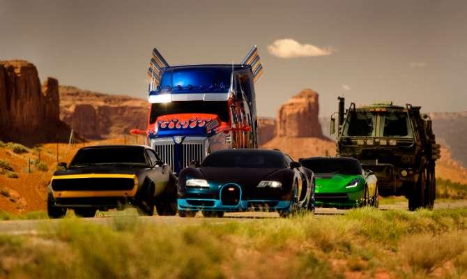 Veja os carros do filme Transformers 4
