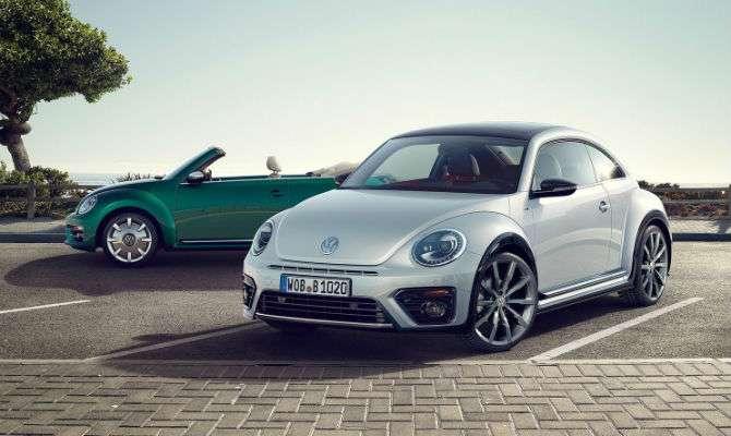 Volkswagen Fusca 2017 ganha reestilização