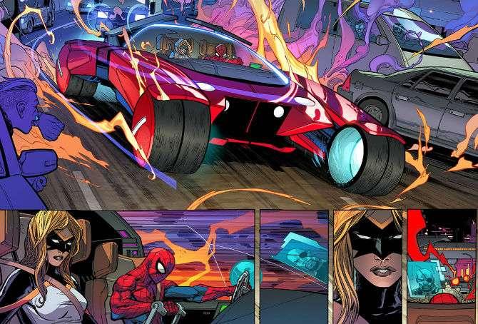 Marvel recussita o Aaranhamóvel