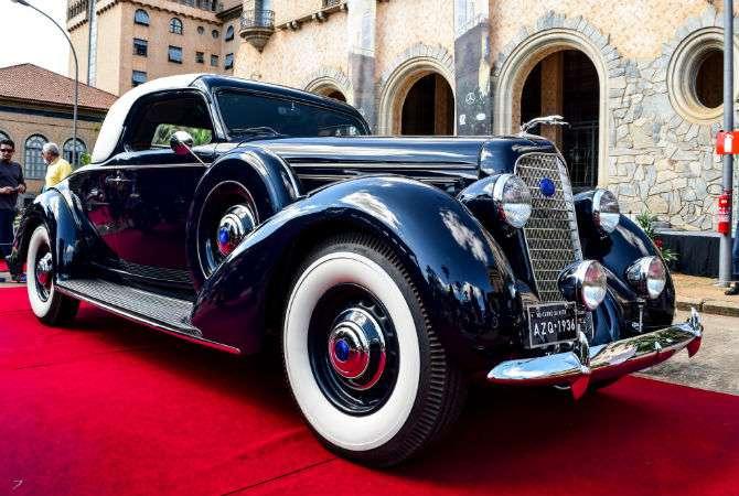 Lincoln K 1936 leva prêmio maior em Araxá