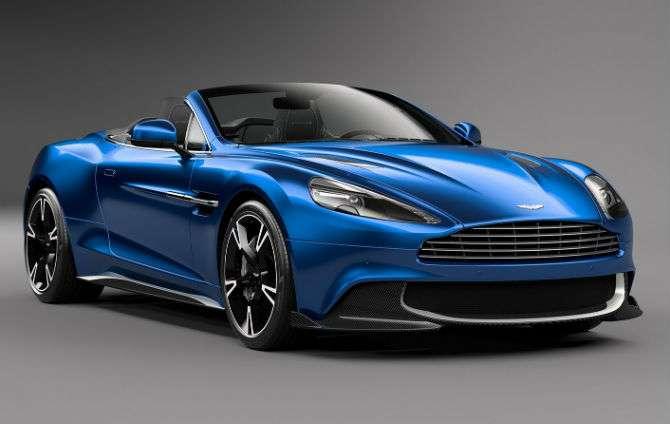 Aston Martin Vanquish S ganha versão conversível