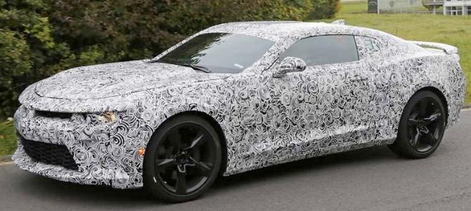 Novo Camaro ZL1 terá mais de 600 cv
