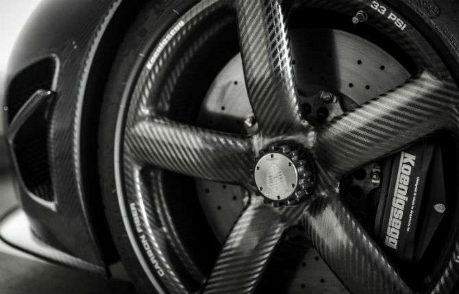Grupo VW testa rodas de fibra de carbono