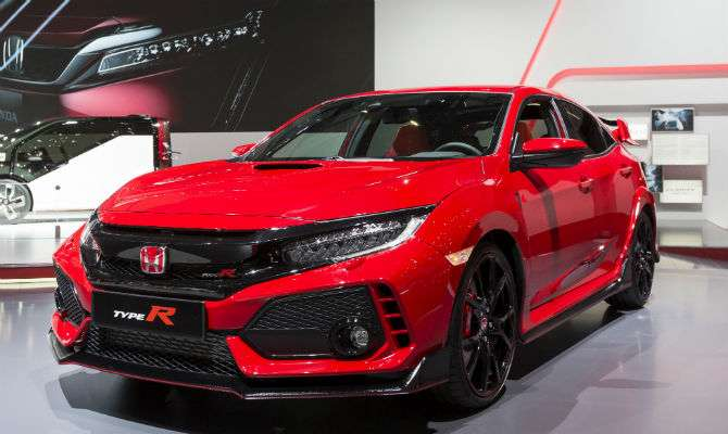 Honda Civic Type R No Salão De Genebra