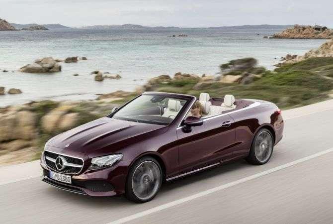 Mercedes atualiza Classe E conversível