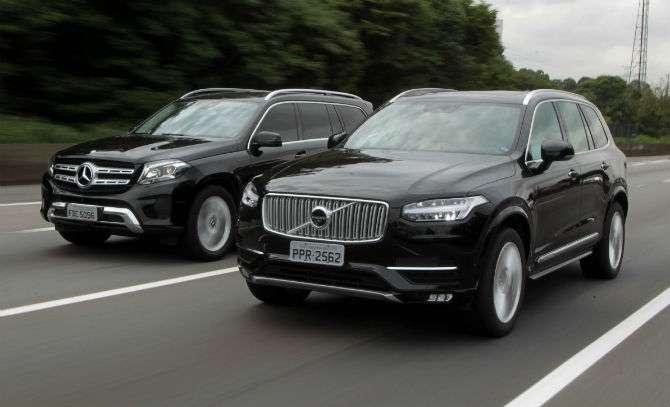 XC90 D5 x GLS 350d: jipões de luxo a diesel