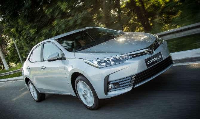 Veja como anda o novo Toyota Corolla 2018