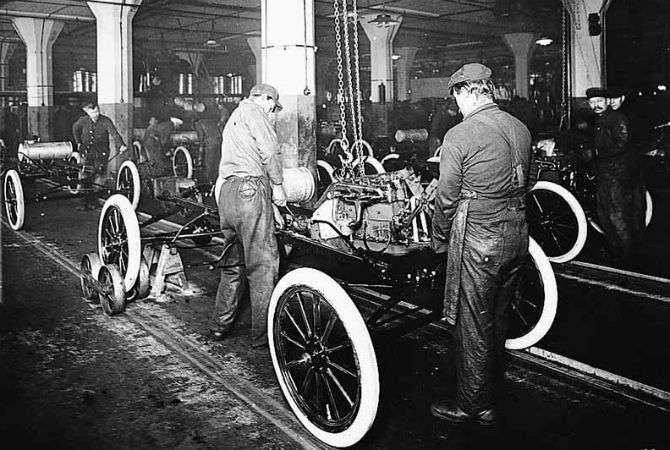 Henry Ford provocou uma revolução trabalhista