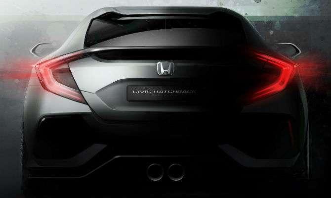 Novo Honda Civic hatch estará em Genebra