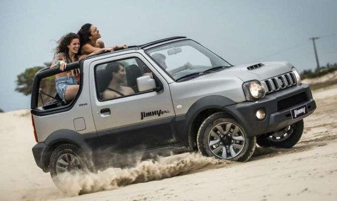 Suzuki começa a vender Jimny com teto canvas
