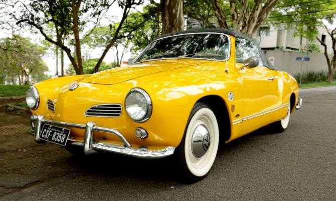 Karmann-Ghia completa 60 anos