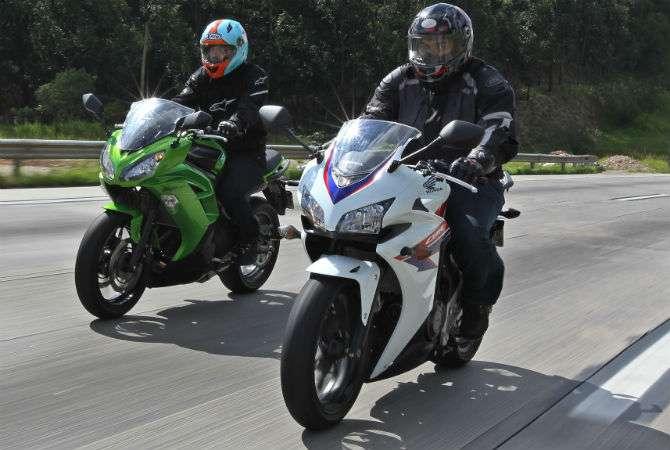 CBR 500R enfrenta Kawasaki Ninja 650