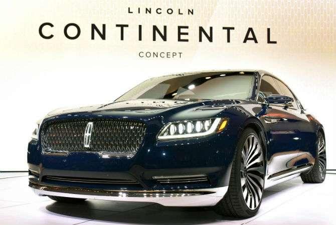 Lincoln Continental ressurge em protótipo