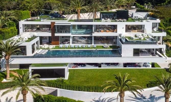 Casa mais cara dos EUA inclui coleção de carrões