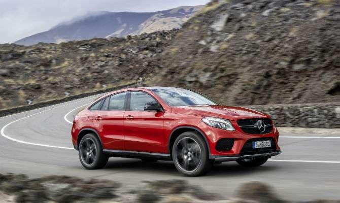 Andamos com o novo Mercedes GLE Coupé