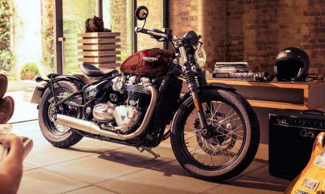 Triumph mostra nova moto retrô Bobber