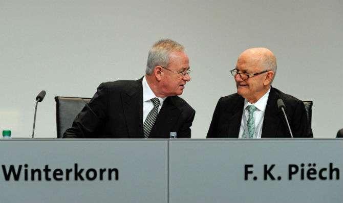 Neto do fundador da VW pede demissão