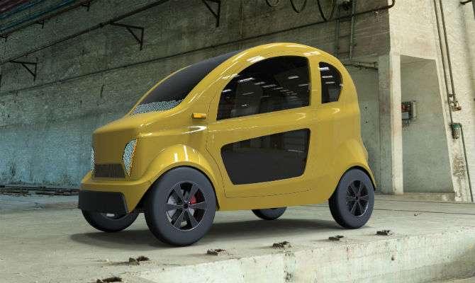 Carro seria equivalente a metade de um carro compacto atual