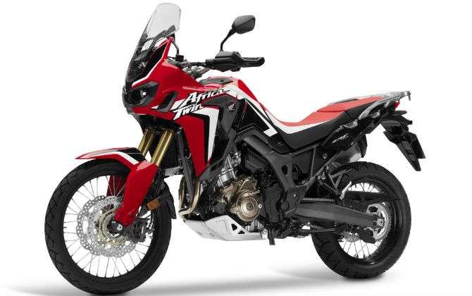 Honda terá Africa Twin e SH300 no Salão