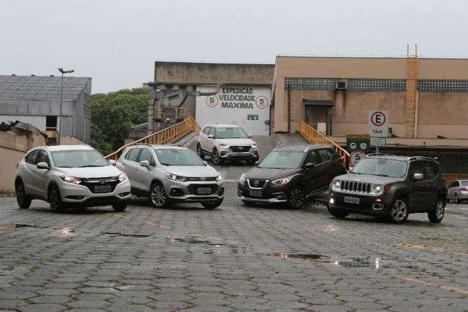 Creta x Tracker x Kicks x HR-V x Renegade: qual é o melhor SUV
