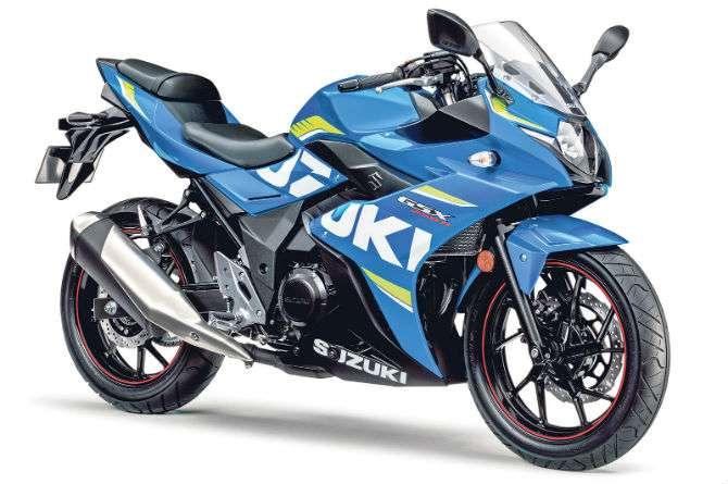Suzuki mostra trail e esportiva de 250 cm³