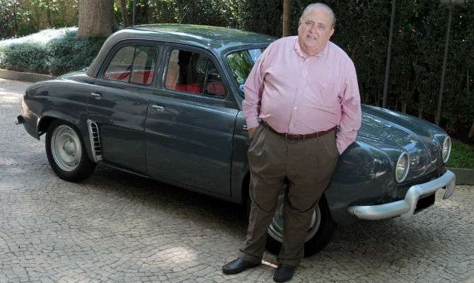 O advogado Artur Vidal e seu Teimoso, modelo espartano lançado em 1964