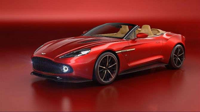 Aston Martin e Zagato criam conversível