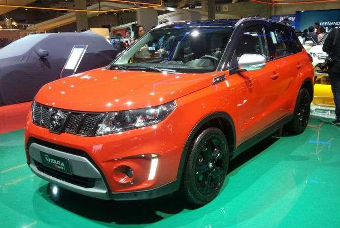 A volta do Vitara é a grande novidade da Suzuki