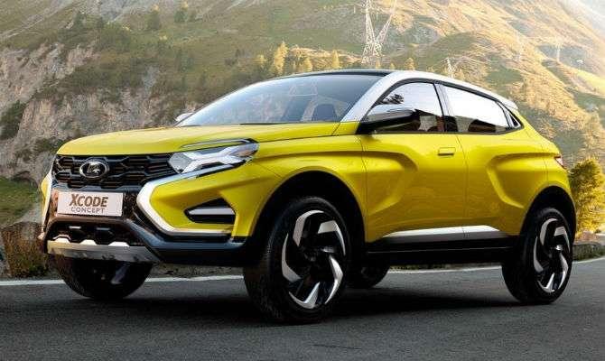 Lada mostra novo conceito de SUV compacto